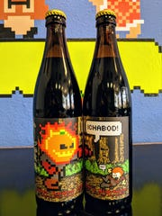 Ichabod Crane's Nightmare is pumpkin mocha latte Imperial Stout  from 8-Bit Aleworks in Avondale.