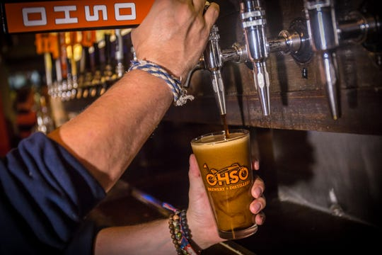 O.H.S.O. Brewery's fall seasonal is Another Pumpkin Porter.