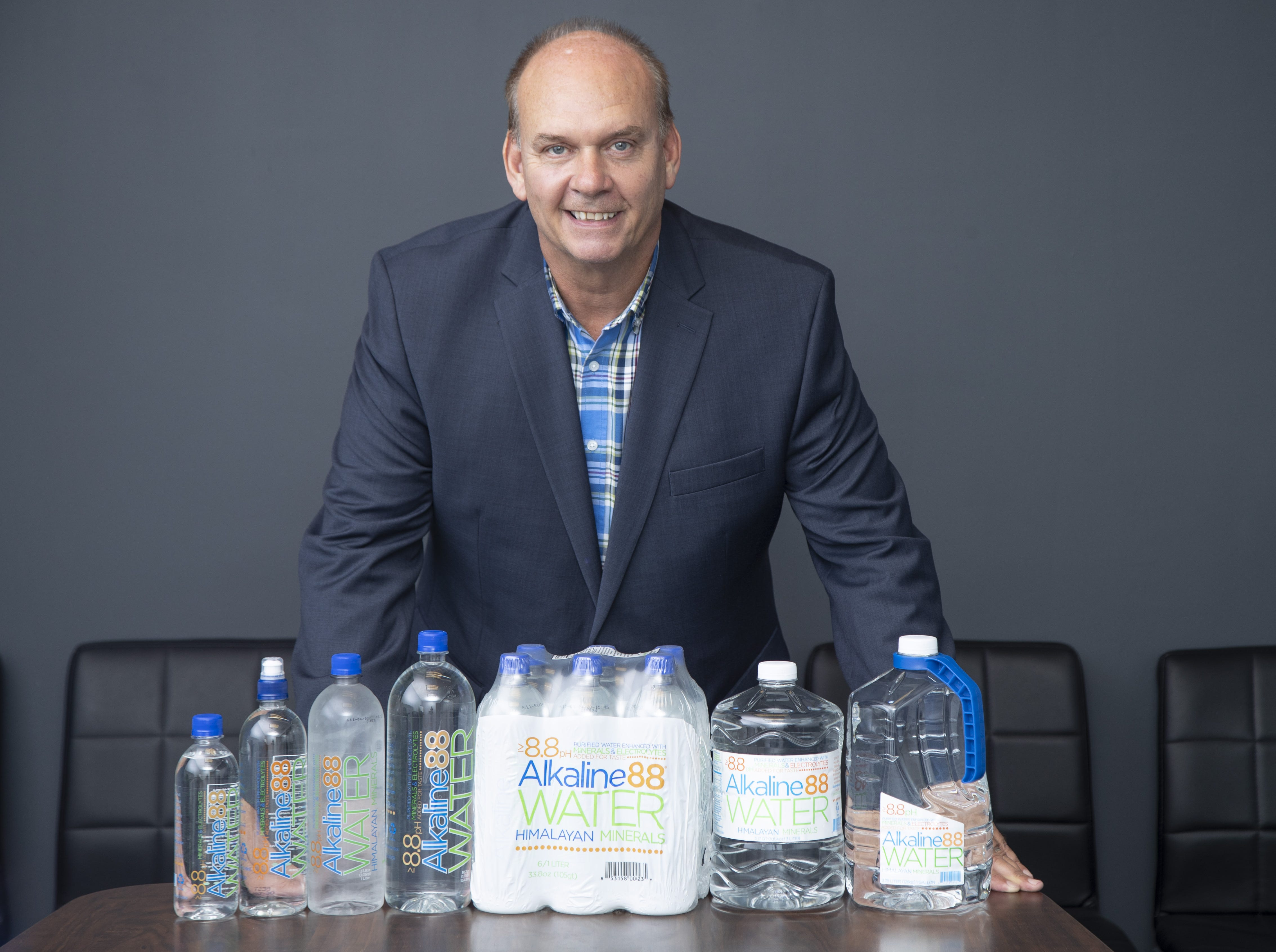 Ricky Wright is the CEO of The Alkaline Water Co., a Scottsdale water company that is capitalizing on a huge health and fitness trend.