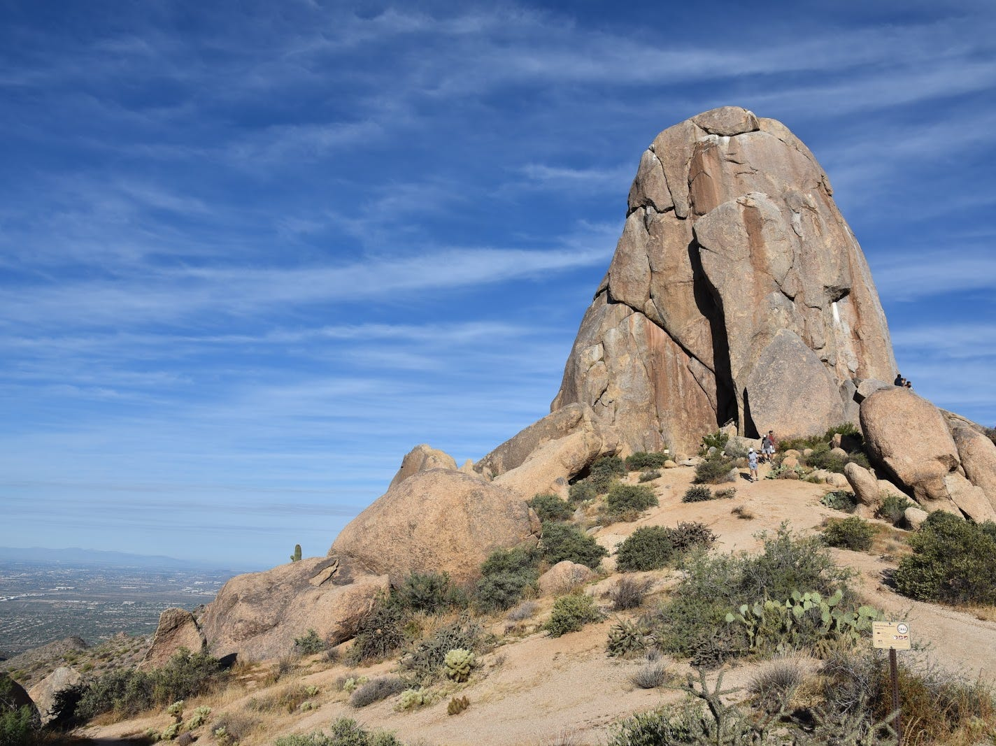 Tom's Thumb is the most recognizable feature in Scottsdale's McDowell Sonoran Preserve.