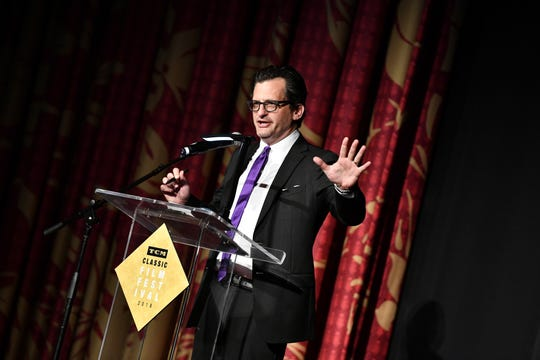 "Ben Mankiewicz serves as the host of ""TCM Primetime."""