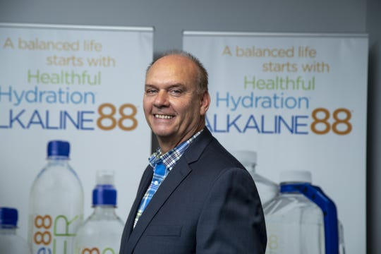 Ricky Wright is the CEO of The Alkaline Water Co., a Scottsdale water company that is capitalizing on a huge health and fitness trend and has its alkaline water in Fry's, Sprouts, AJ's and others.