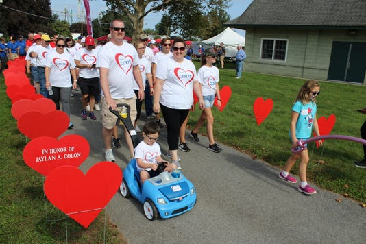 Truax Family Leads Off Heart Walk