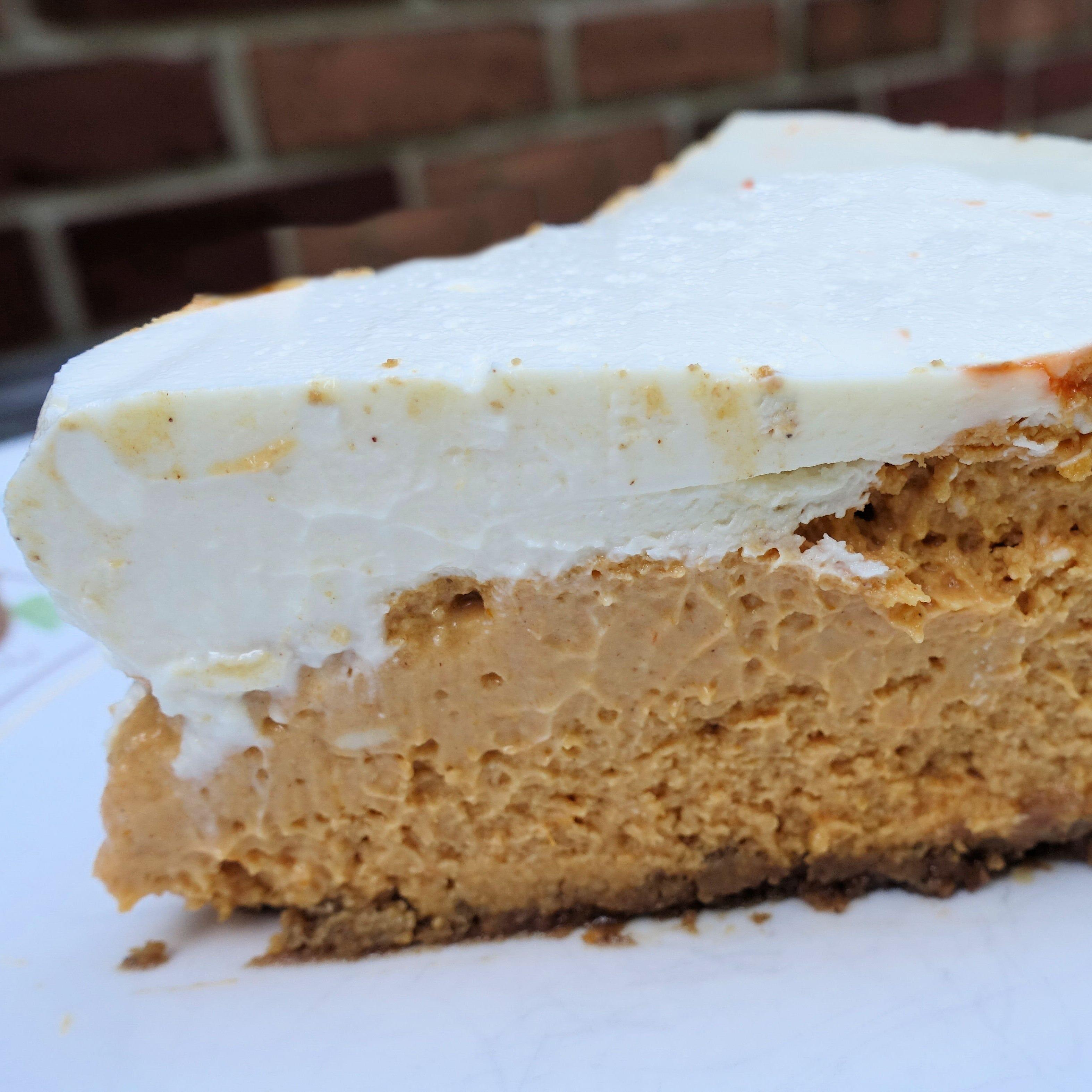 Tired of pumpkin pie? Try pumpkin cheesecake