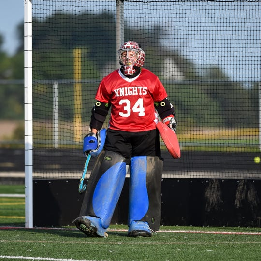 finest selection 8f9bd 3326a Field hockey: Eastern York's nationally ranked goalie lives ...