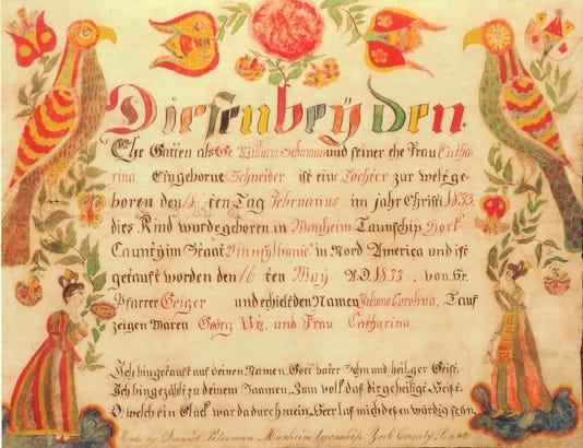 1 Julianna Corolina Schuman 1833