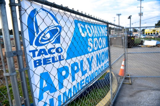 The 2054 S. Queen St. location of Taco Bell is undergoing construction, October 9, 2018.