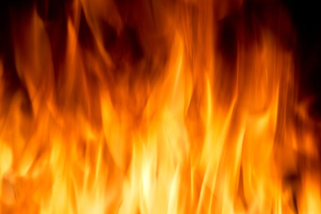 A file photo of flames.