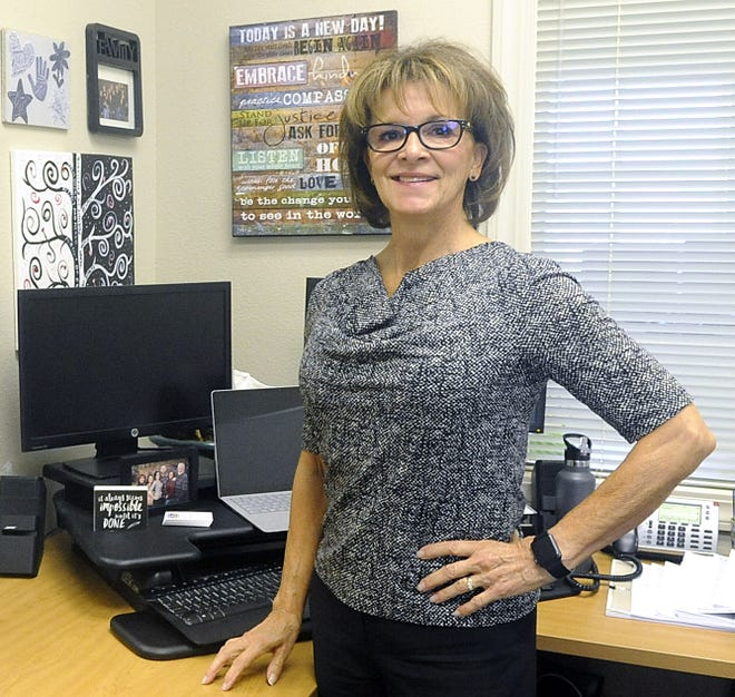 Human Services Director Edrie LaVoie is retiring after 33 years with Lyon County.