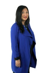 Mary Chao. Democrat and Chronicle updated staff photos for the Newsroom of the Future.
