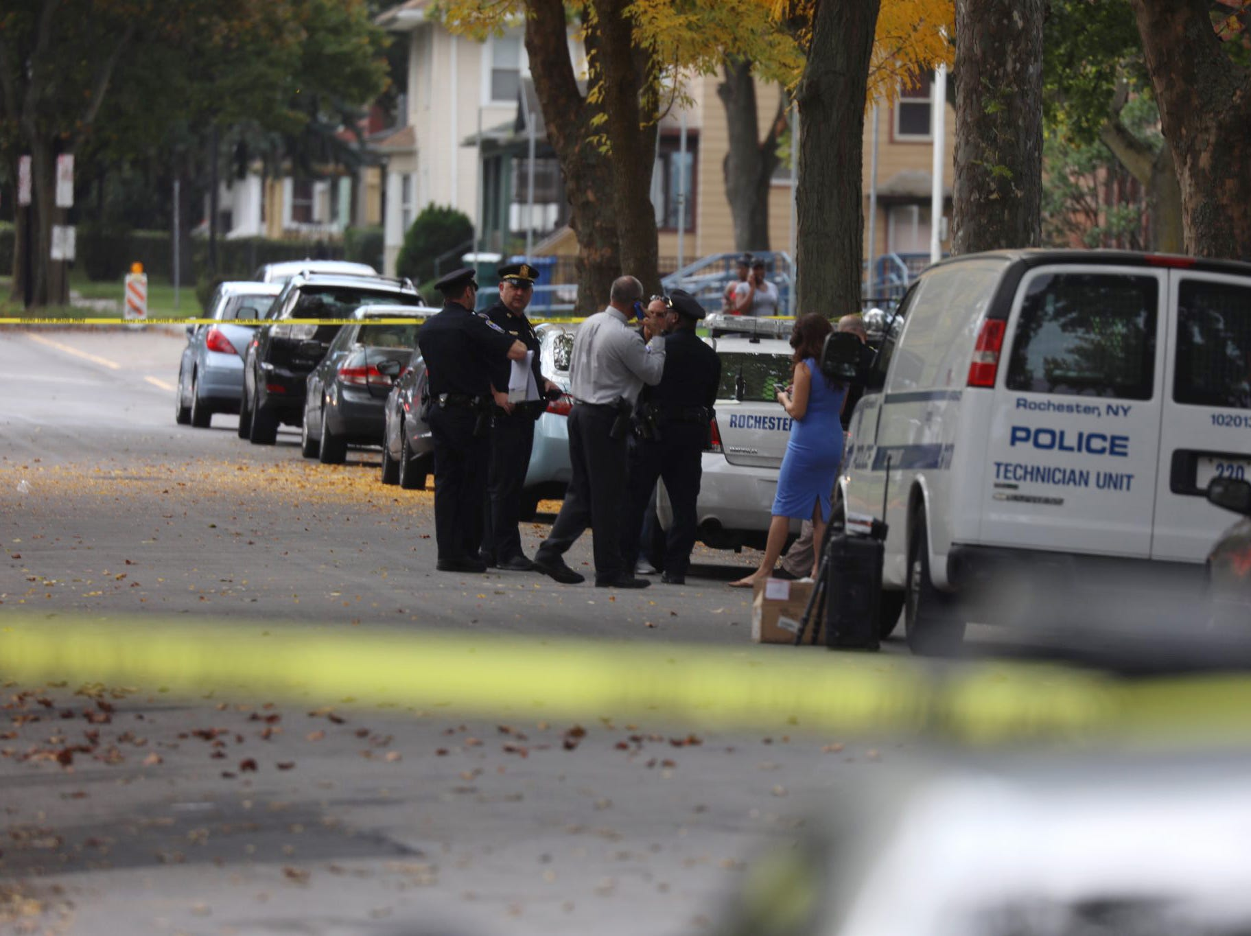 Rochester Police are investigating the report of a shooting on the city's west side Wednesday morning.