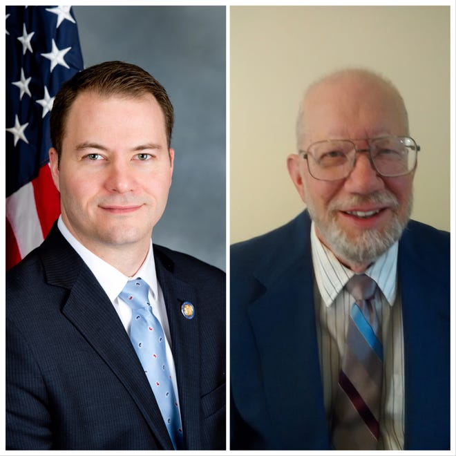 Robert Ortt and Peter Diachun are the candidates in the 62nd district.