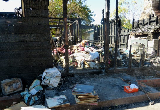 The Sunday morning fire that killed a Cottonwood woman at her Willow Street home has been ruled a homicide by the Shasta County Sheriff's Office.