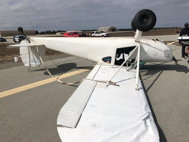 A pilot survived a plane crash at the Marina Municipal Airport Wednesday morning, Marina police say.