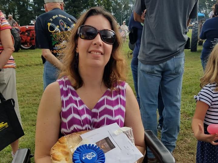 Northampton Agricultural County Fair Pie Baking Contest Adult Winner, pecan pie, Jennifer Brady