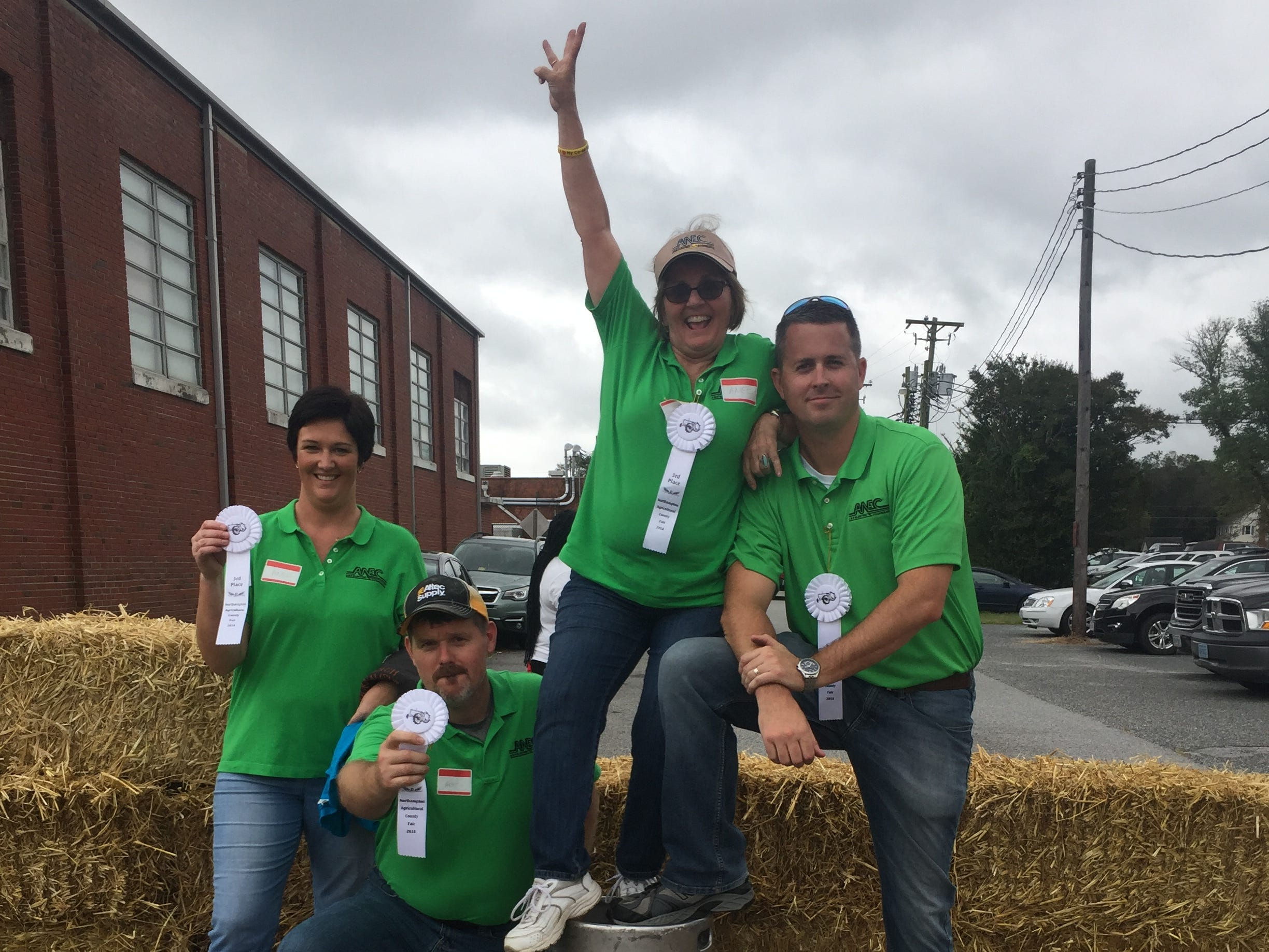 Northampton Agricultural County Fair Keg Roll, 2nd Place Winners - ANEC