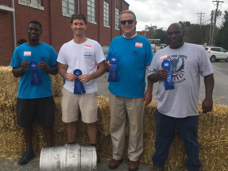 Northampton Agricultural County Fair Keg Roll, 1st Place Winners - Dodd Farm Crew