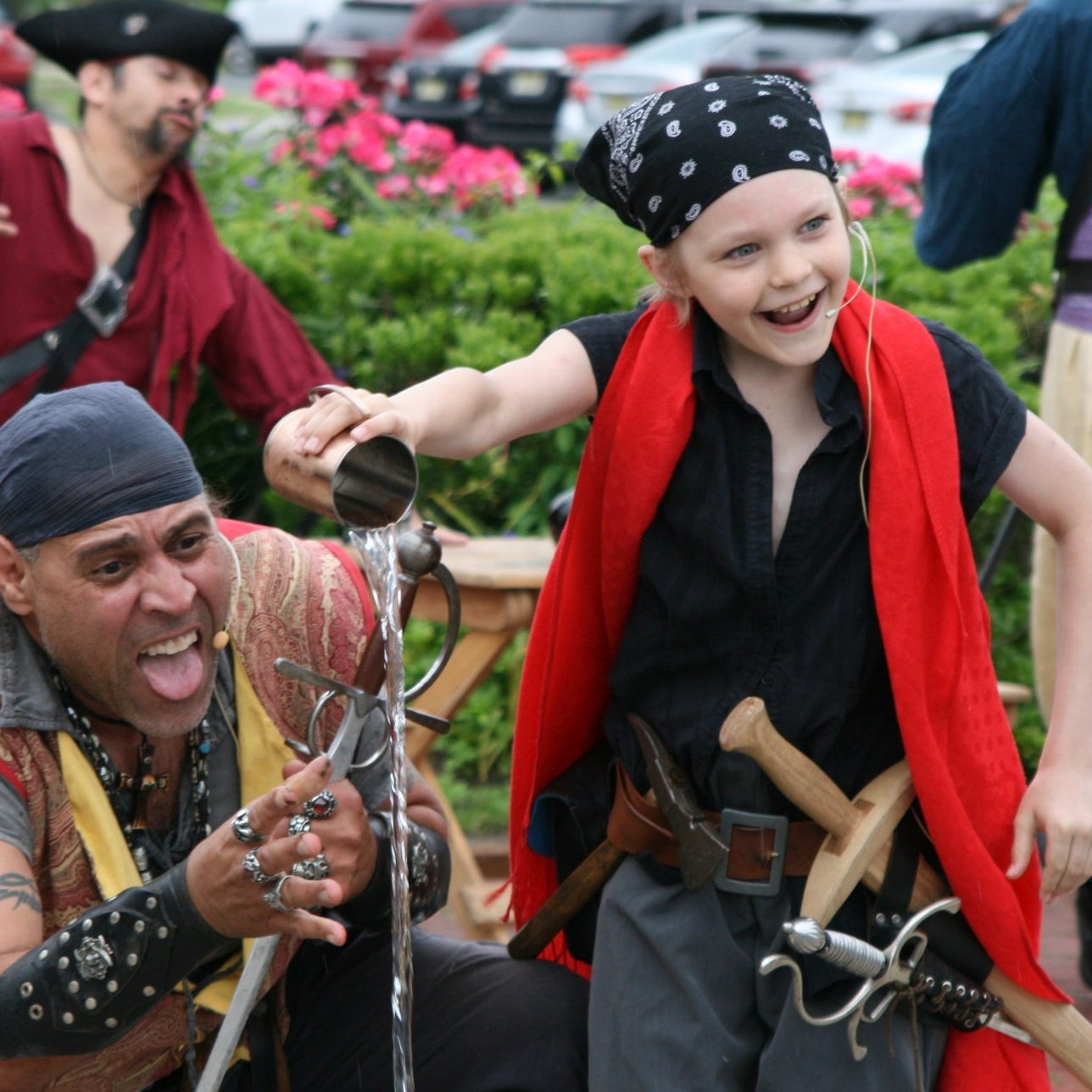 Plunder some fun with the pirates at Milton's Zombie Fest