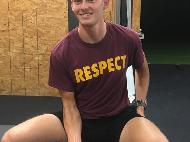 The Athlete Academy trainer and Salisbury University student Nick Kundrat specializes in training athletes who have Type I Diabetes having been diagnosed with the disease when he was 4.