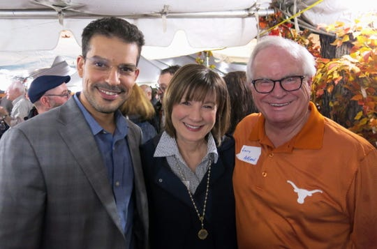 Dr. Kamel Brakta, Lori and Dr. Larry Allen at Willis-Knighton Barbecue.