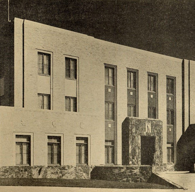 Looking Back: Sioux Falls' city hall designed as modern testament to city functions