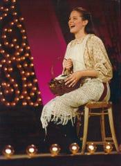 Kim Crosby on stage.
