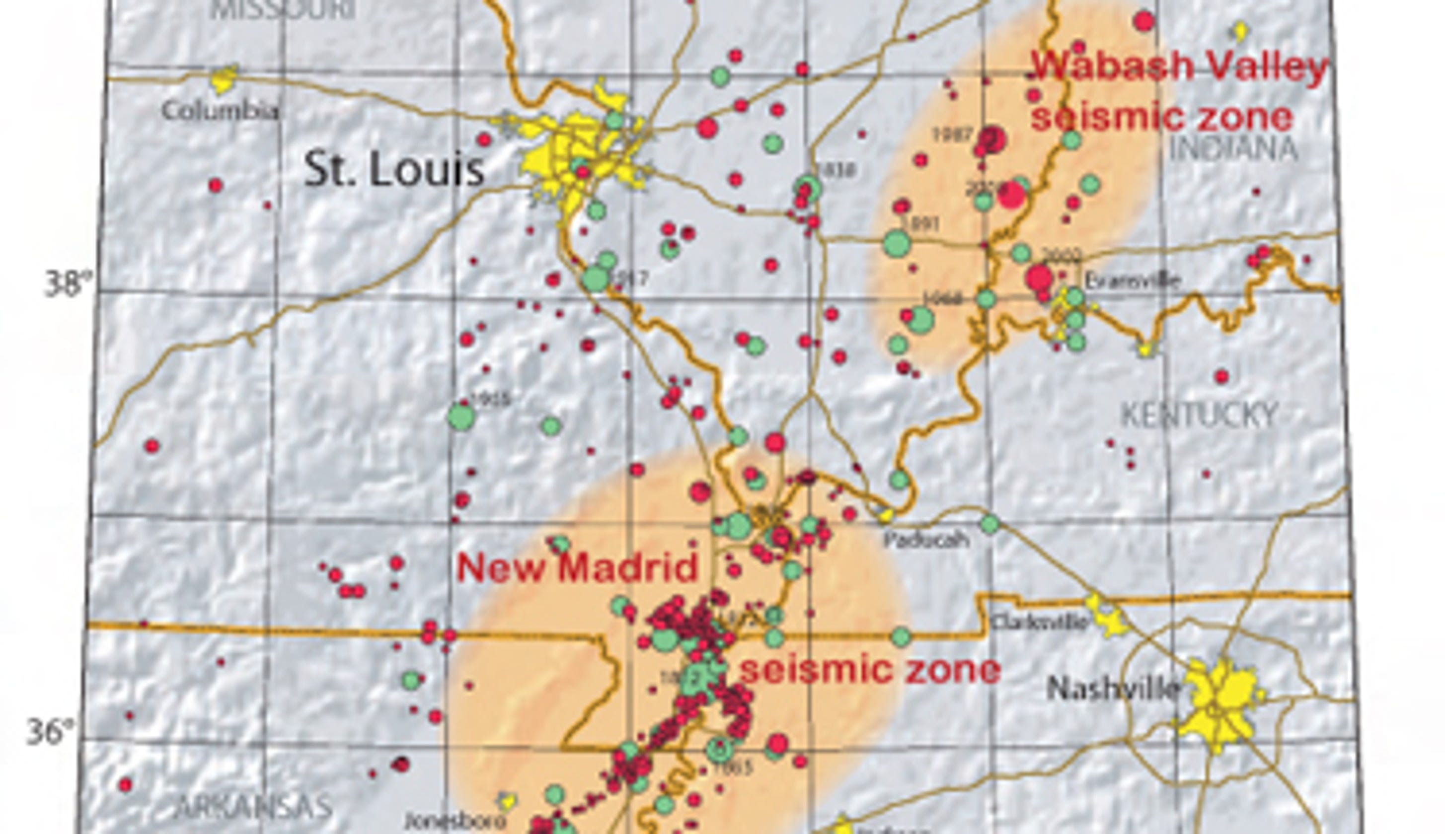 When the New Madrid fault unzips, will you be ready?  Seismic Zone Map Us on seismic risk map, new york state seismic map, seismic category map, ibc seismic classification map, us seismicity map, us wind map, us ground snow load map, us soils map, global seismic hazard map, level 4 seismic zones map, us frost depth map, california seismic hazard zone map, us heating degree days map, ibc zip code map, us rainfall intensity map, seismic activity map, us altitude map, gsa seismic map, 10 fema zones map, earthquake map,