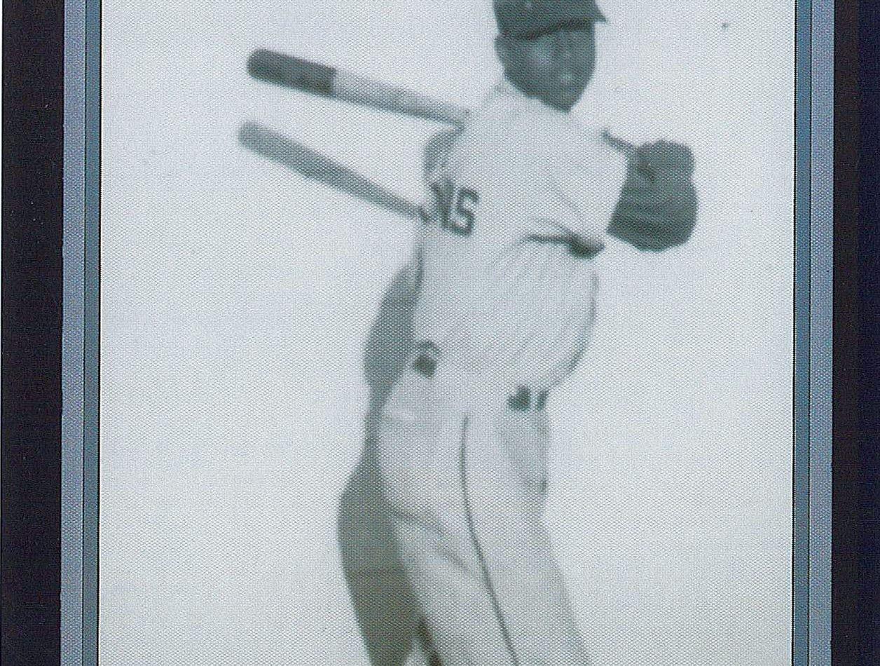 Homer Boyd's baseball card