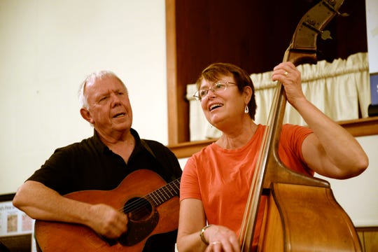 A Bluegrass Spirit Jam, headed by husband and wife Donald DePoy and Martha Hills, is held every Tuesday at the old West View Methodist Church on Parkersburg Turnpike in Swoope.