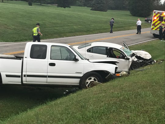 Trinity King was behind the wheel of a Volkswagen Jetta on Oct. 10, 2018, when she hit a pickup nearly head-on. The crash took place on Hermitage Road (U.S 254), killing her 2-year-old son and brother.