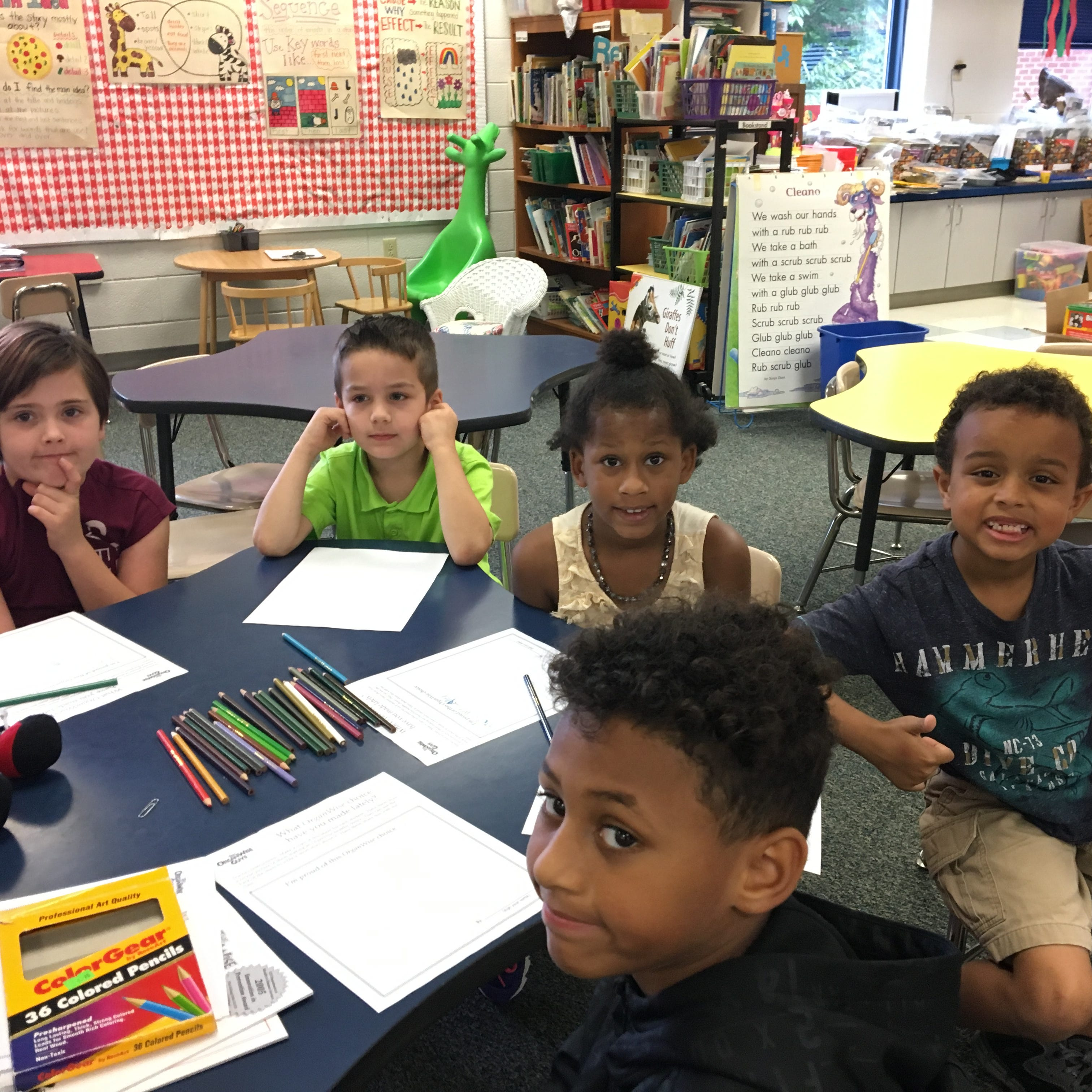 Get Fresh teaches healthy eating at William Perry Elementary