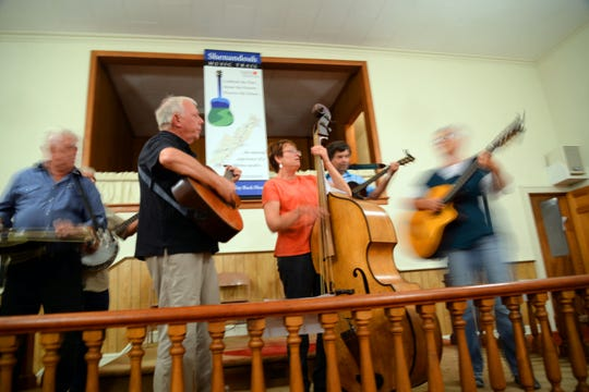 A Bluegrass Spirit Jam is held every Tuesday at the old West View Methodist Church on Parkersburg Turnpike in Swoope.