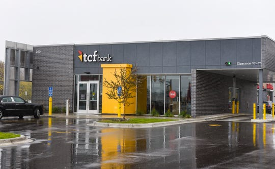 The newly remodeled TCF Bank shown Wednesday, Oct. 10, will continue to serve local customers at 200 25th Ave. S.