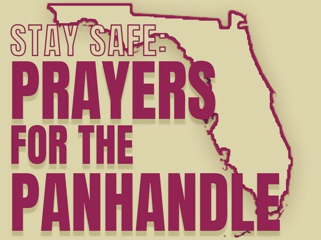 Pleas for prayers flooded social media Wednesday at Hurricane Michael approached the Panhandle as a category 4.