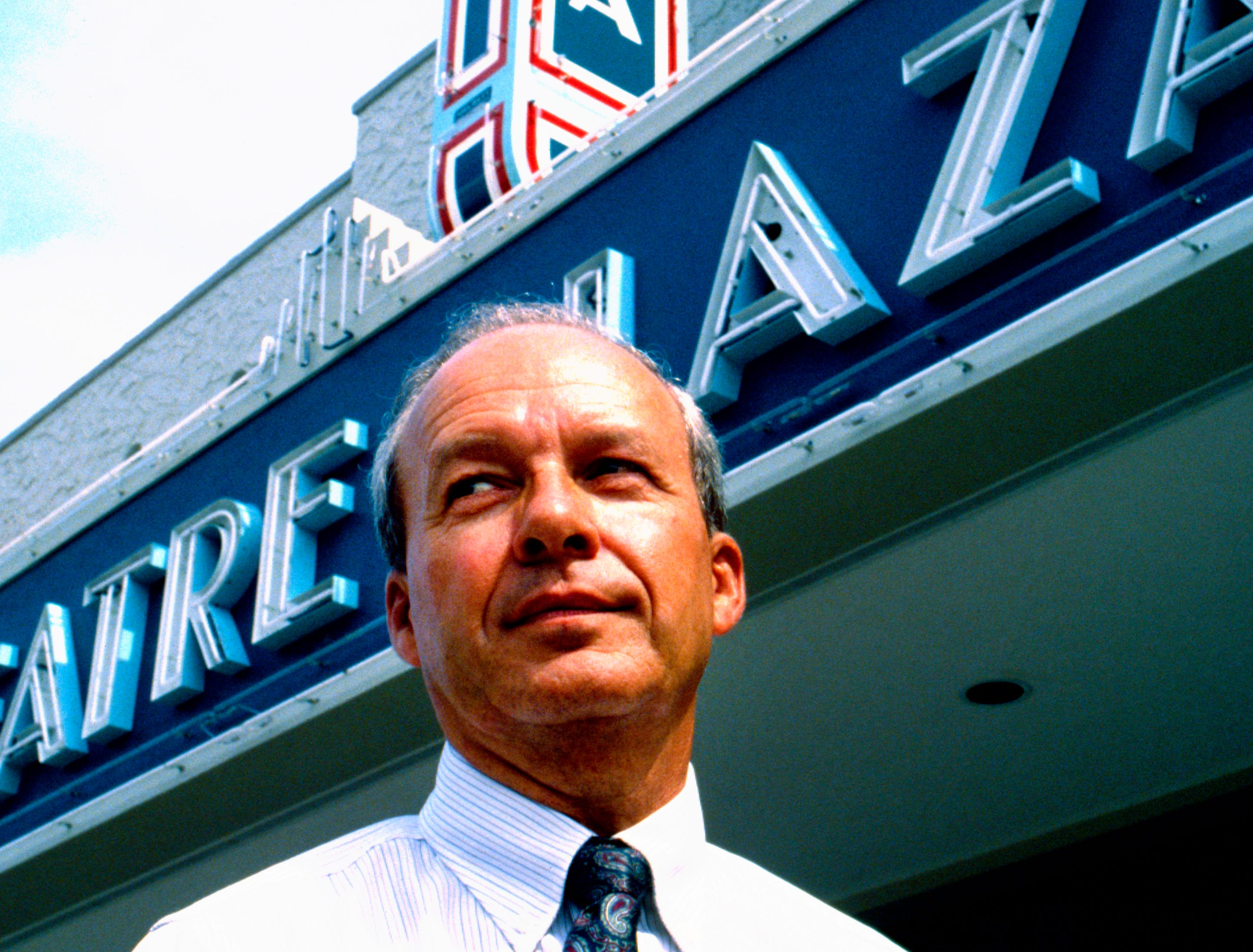 October 17, 1991 - Robert Brackett invested in downtown Vero Beach's future by completing phase one of the restoration of the Theatre Plaza, the former Vero and Florida theatres.