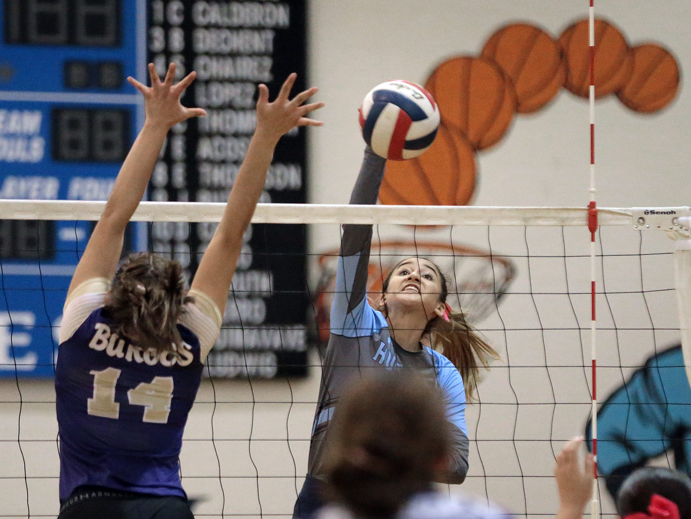 Chapin volleyball defeated Burges Tuesday night at Chapin HIgh School.