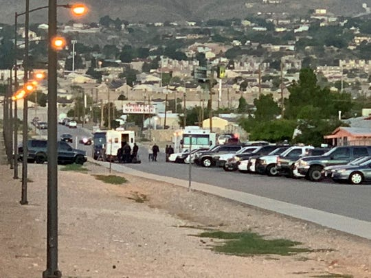 A SWAT situation is underway after El Paso police responded to a shots-fired call in Northeast El Paso.