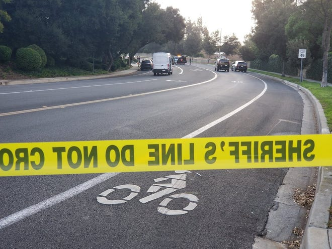 Hillcrest Drive between Black Oak Street and Skyline Drive in Thousand Oaks were closed as the Ventura County Sheriff's Office investigated a deputy-involved shooting on Oct. 10.