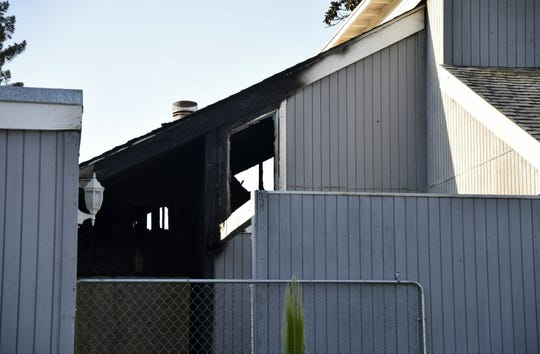 A fire caused approximately $140,000 of damage to a Visalia home located at  3521 E. Stapp Ave. late Tuesday night. The damage was more visible the next morning on Wednesday, October 10, 2018.