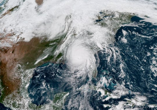 Hurricane Michael made landfall Wednesday afternoon with sustained winds 2 mph shy of Category 5 status.