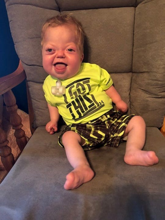 This year's Halloween Aid Fright for Life will help Jase Wisinski.