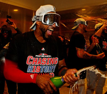 MLB playoffs: 'New York, New York' played by victorious Red Sox