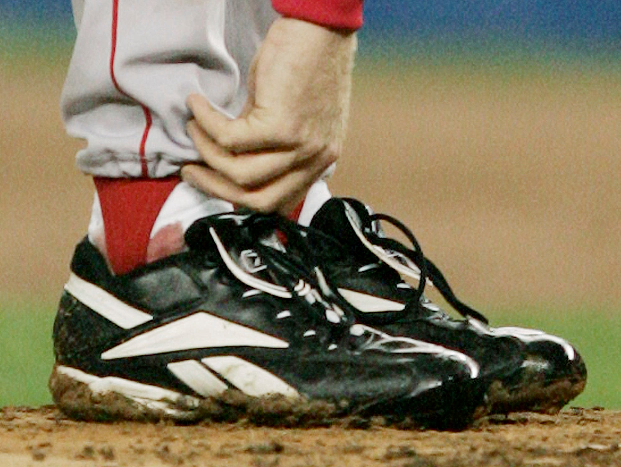 2004 ALCS Game 6: Red Sox starter Curt Schilling took the mound with an ankle injury against the Yankees, winning the game and forcing a Game 7.
