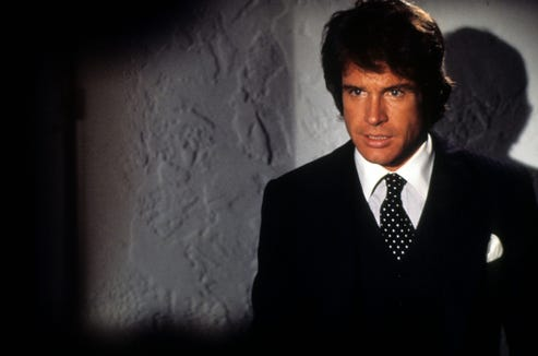 "Warren Beatty is a pro quarterback who gets a second chance at life in ""Heaven Can Wait."""
