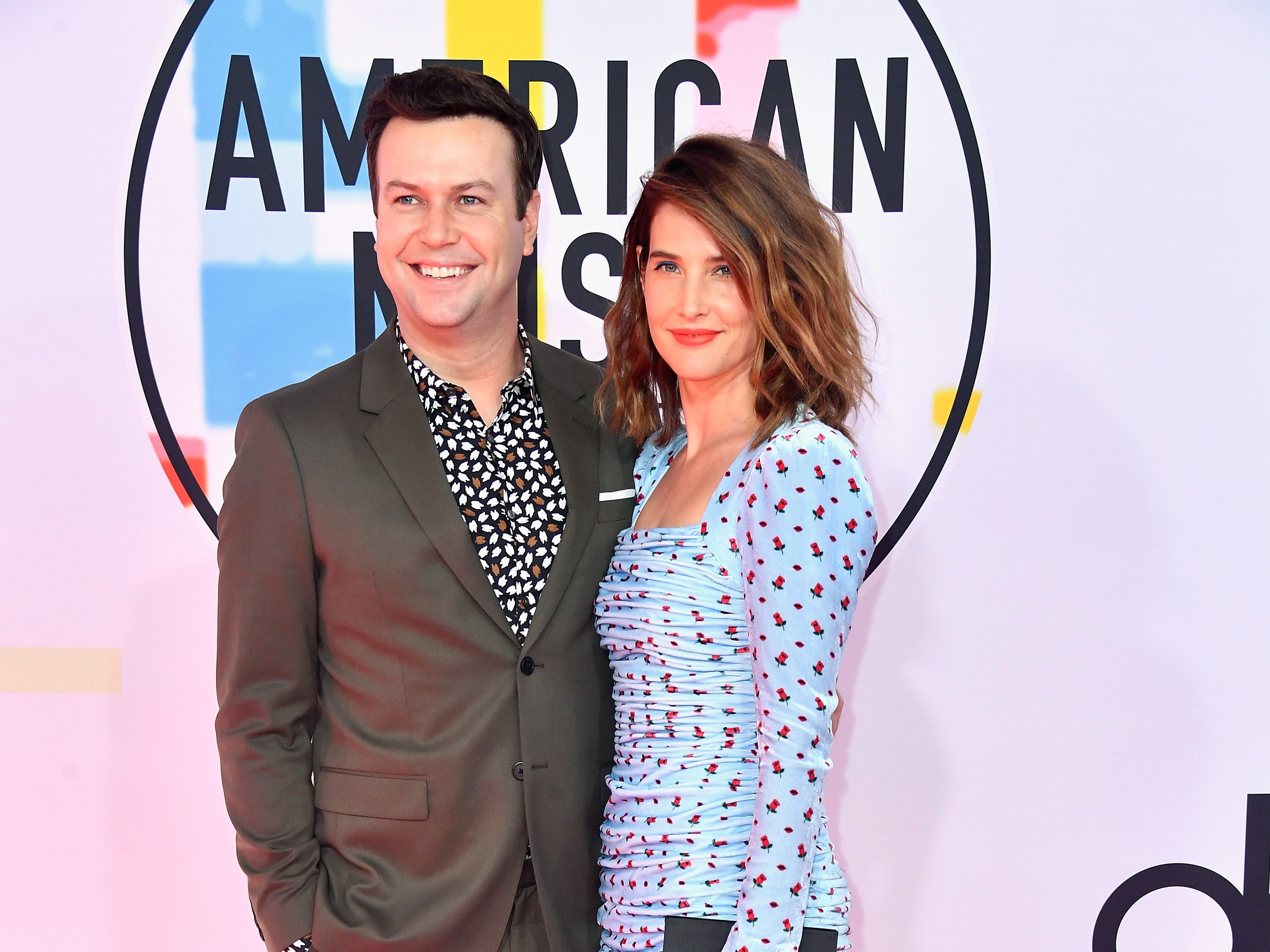 Taran Killam, left, and Cobie Smulders