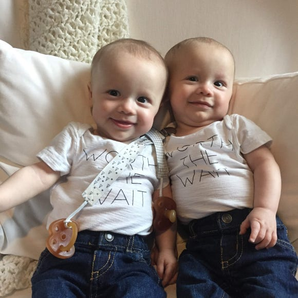 "Identical twins, Evan and Ethan Schneider, were conceived through IVF. Their parents, Brittney and Trevor, spent more than 2 and a half years at fertility clinics. Brittney shares her thoughts on how ""This is Us"" portrayed the IVF process in a recent episode."