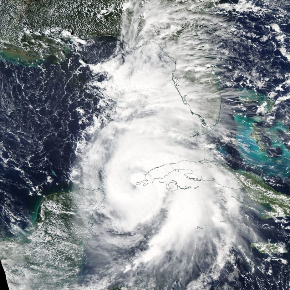 Why are we politicizing hurricanes, the environment?: Today's talker