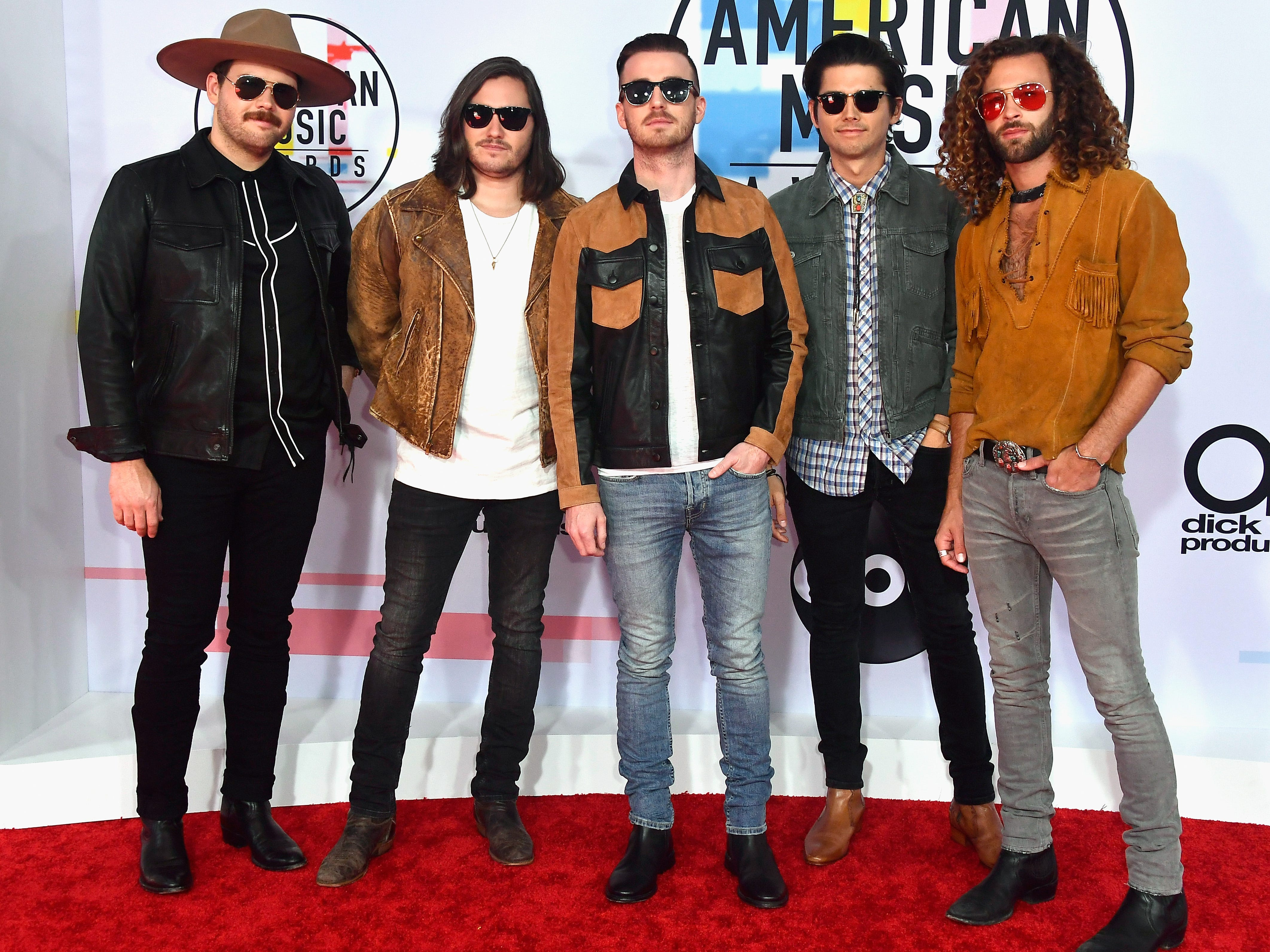 Jared Hampton, Tripp Howell, Brandon Lancaster, Chandler Baldwin, and Eric Steedly of LANCO