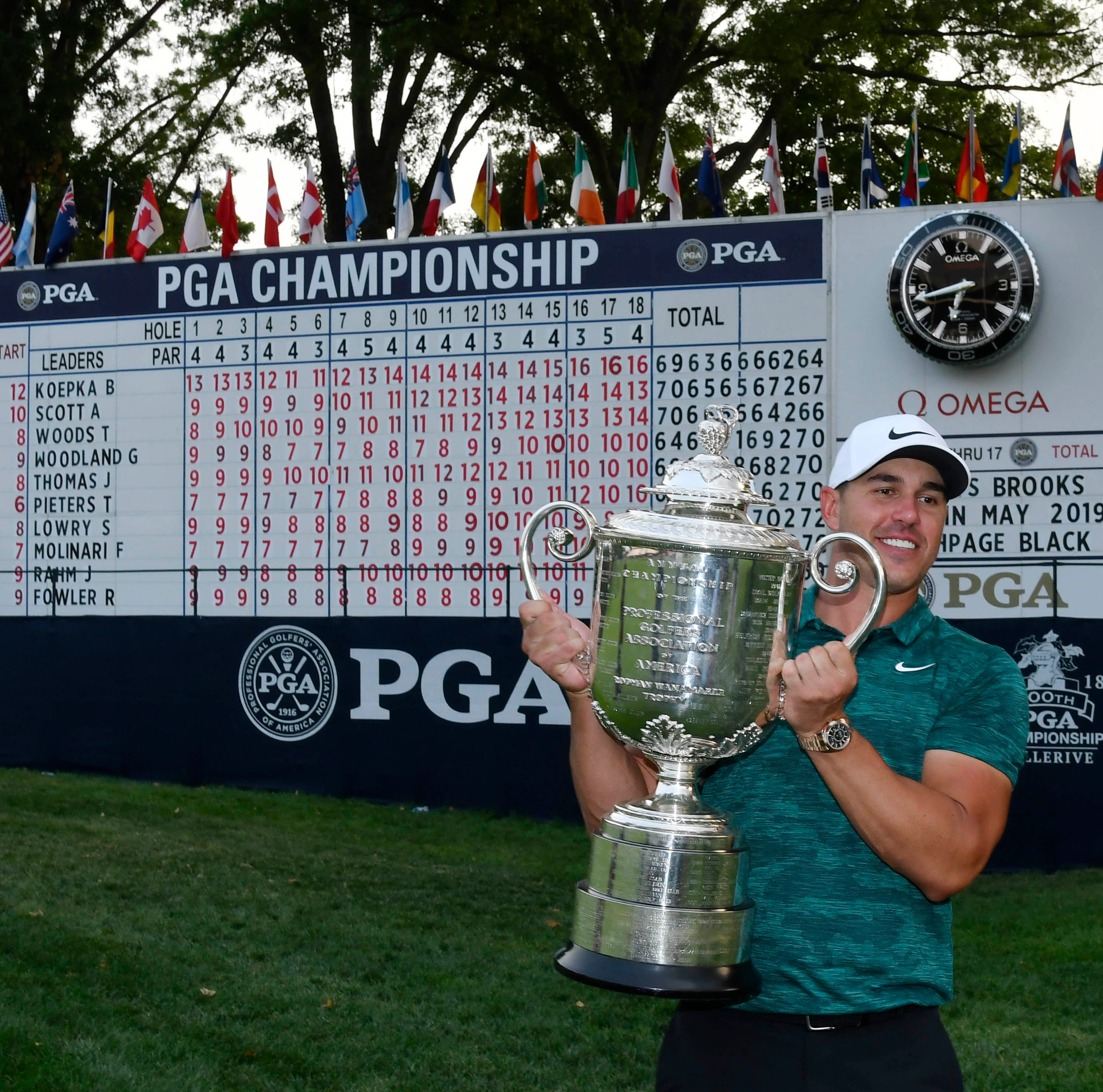 PGA of America strikes 11-year TV deal with CBS, ESPN