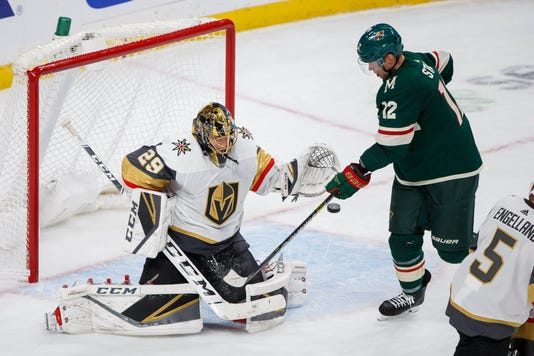 Usp Nhl Vegas Golden Knights At Minnesota Wild S Hkn Min Vgk Usa Mn